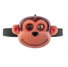 OXE LED čelová svítilna, opice