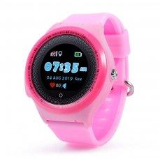 Dětské hodinky s GPS lokátorem CEL-TEC KT06 Pink