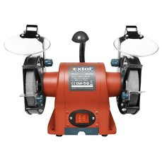 Bruska stolní dvoukotoučová, 350W, 150x12,7x š.20mm, EXTOL PREMIUM, BG 35L, 8892110