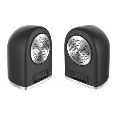 CEL-TEC Stereo Master Black Bluetooth reproduktory
