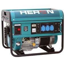 Elektrocentrála benzínová 13HP, pro svařování, 5,5kW, HERON, EGM 55 AVR-1, 8896113