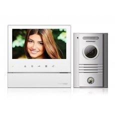 """Commax CDV-70HD bílý/DRC-40K ekonomická sada 7"""" handsfree videotelefonu a dveřní stanice"""