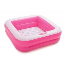 INTEX 57100 Dětský bazén Play Box 85 x 85 x 23 cm růžová
