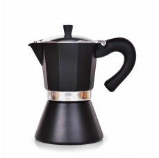 Systemat 460 ml MOKA ESPRESSO přetlaková konvice pro přípravu kávy, na 9 šálků