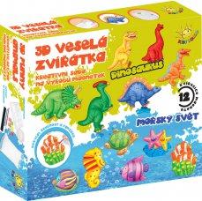 Kids World 3D veselá zvířátka, výroba magnetek