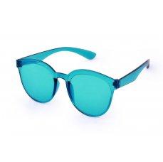 Duhové sluneční brýle, 100% UV ochrana, tyrkysové, UV400