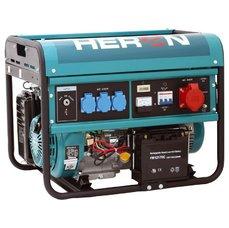 Elektrocentrála benzínová 13HP, elektr. start, 6,0kW (400V)/2,2kW (230V), HERON, 8896114