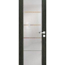 Interiérové dveře VENTURA SATINATO kombinované sklo s pruhy