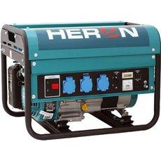 Elektrocentrála benzínová 5,5HP, 2,3kW, 230V/50Hz, 4,0kW (5,5HP) HERON, 8896111