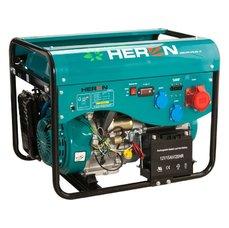 Elektrocentrála benzínová a plynová (LGP/NG) 13HP, elektrický start, HERON, LPGG 43-3F