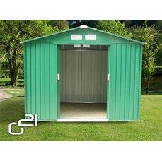 Zahradní domek G21 GAH 580 - 251 x 231 cm, zelený