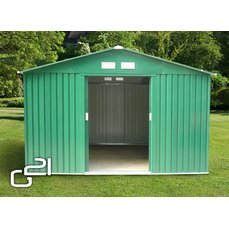 Zahradní domek G21 GAH 905 - 311 x 291 cm, zelený