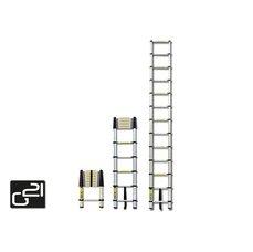 G21 GA-TZ11-3,2M hliníkový Teleskopický žebřík