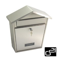 Schránka poštovní G21 LORI 320x380x105 nerez
