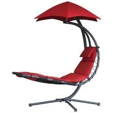 Závěsné houpací lehátko Vivere Original Dream Chair, červená