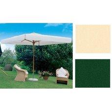 Slunečník Palladio Standard čtvercový zelená barva