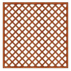 Mříž Zuzana 180x180cm oko 10x10cm