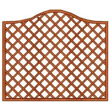 Mříž Zuzana  s vlnkou 180x135cm oko 10x10cm