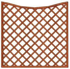 Mříž Cecílie 180x180/160cm oko13x3cm