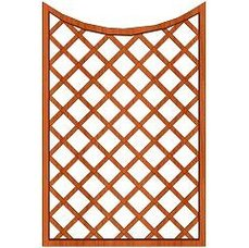 Mříž Cecílie 120x180/160cm oko 13x13cm