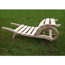 Dřevěný trakař velký