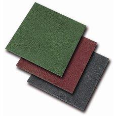 Dopadové pryžové desky zelená 100x100
