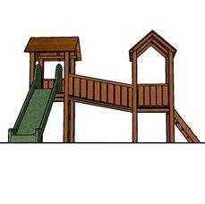 Dětské hřiště Vladeko 2 se skluzavkou
