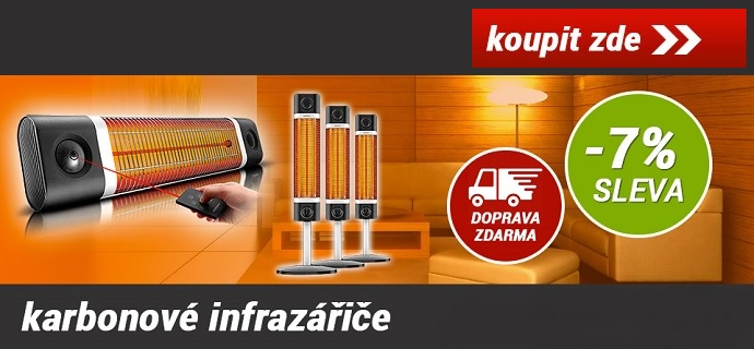 Infrazářiče - Nakoupitezde.cz