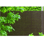 Stínící sítě, rákosy, živé ploty